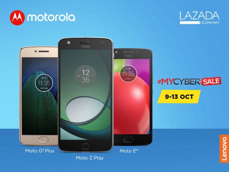 Motorola Lazada #MyCyberSale