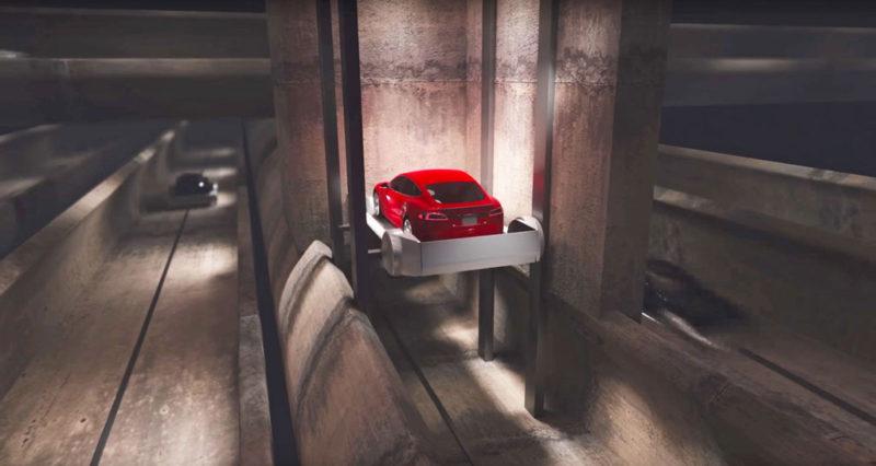 The Boring Company tunnel