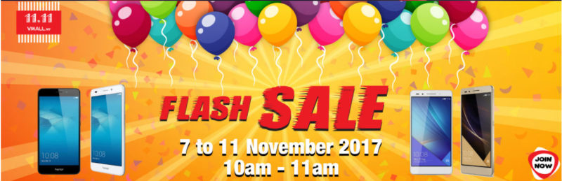 honor Double 11 Flash Sale