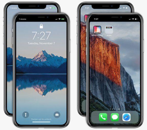 Apple iPhone X notch