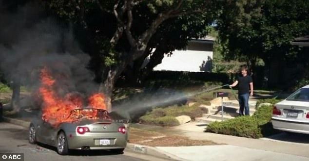 BMW recall fire hazard