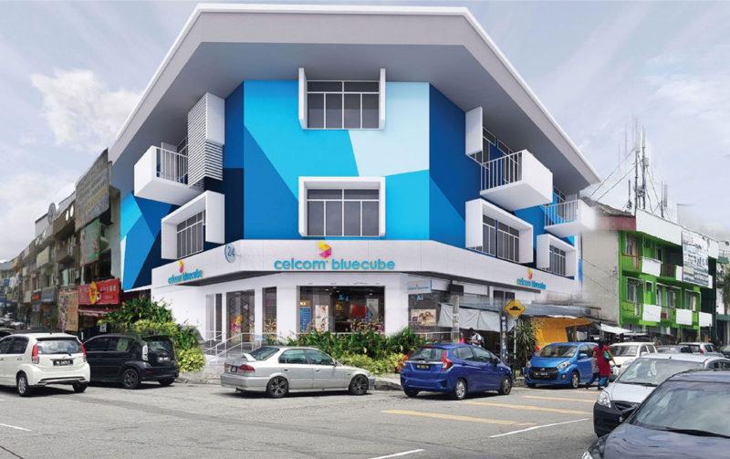Celcom Blue Cube