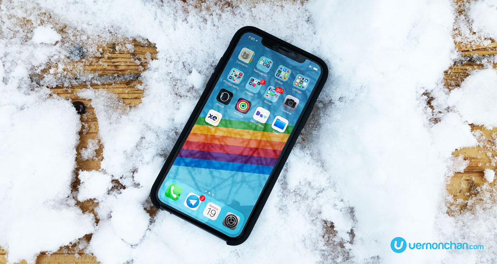 iPhone X iOS 11.1.2