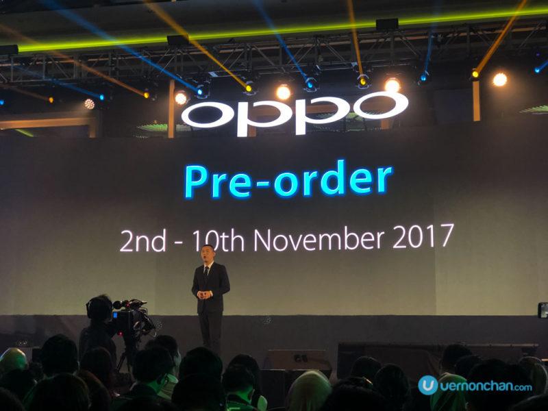 OPPO F5 launch