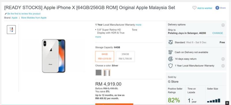 Cheap iPhone X