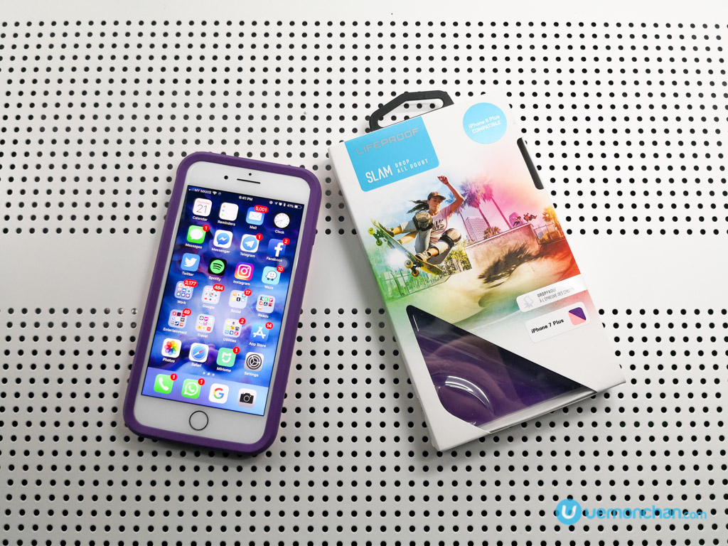 quality design 36b21 da6f6 Lifeproof Slam for iPhone 8 Plus review: For life's surprises