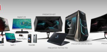 Acer iF Design Awards 2018