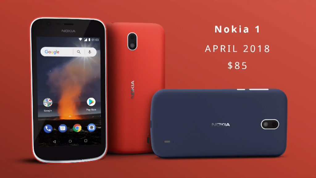 newest dde05 24bd7 Nokia 1 is your starter smartphone with Android Go and Xpress-on covers