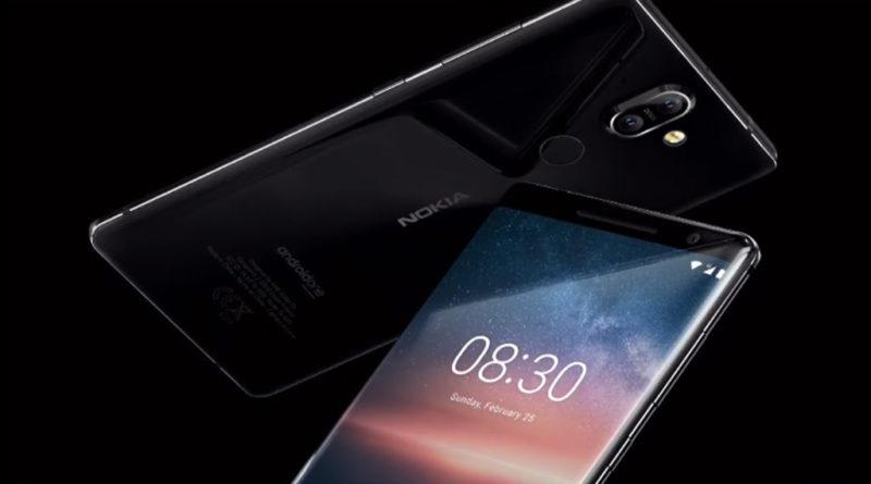 MWC18 Nokia 8 Sirocco