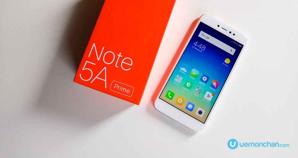 Xiaomi Redmi Note 5A Prime review: Primed & ready
