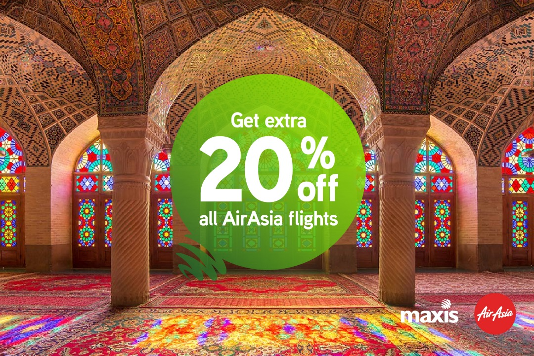 Maxis AirAsia promo