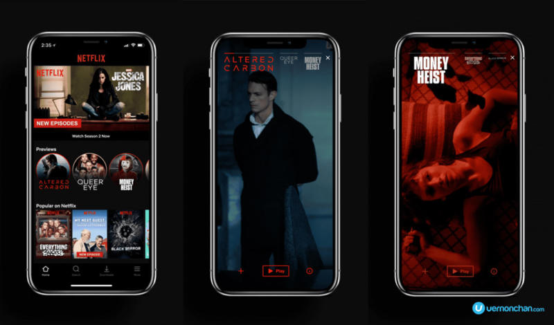 Netflix Mobile Preview