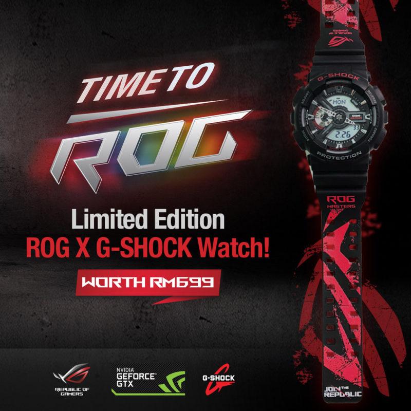 ROG X G-Shock