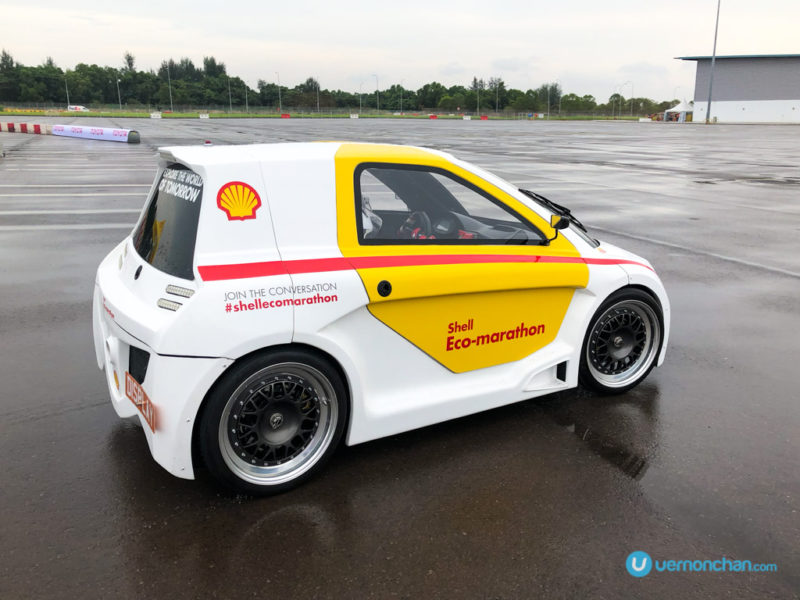 Shell Eco-marathon UrbanConcept Media Vehicle