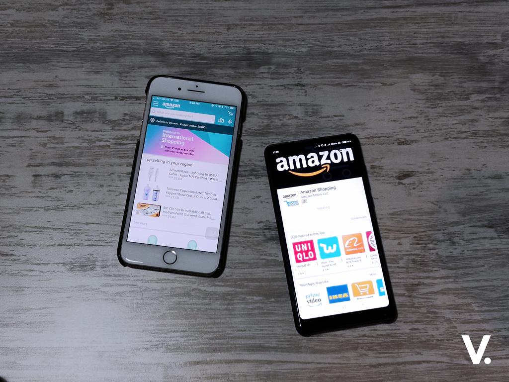 Amazon International Shopping