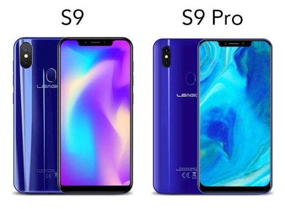 Leagoo S9 and S9 Pro