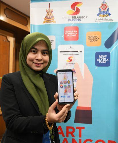 MBPJ Smart Selangor Parking app