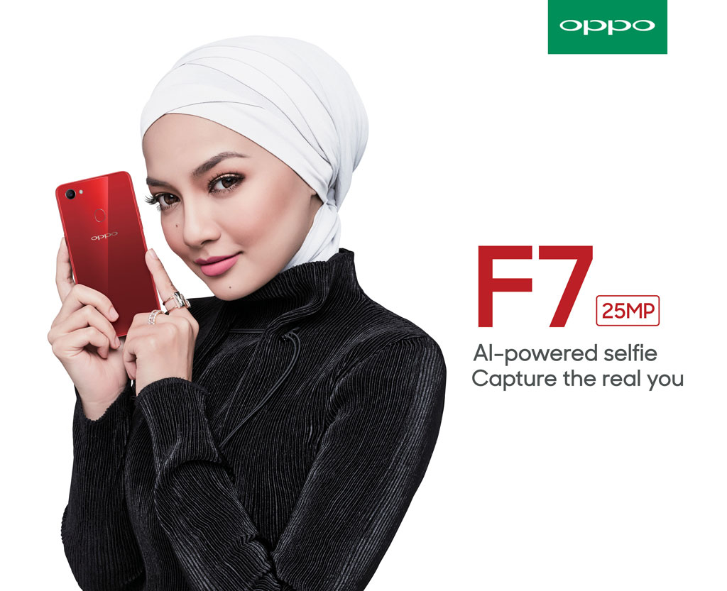 Hebe Tien and Neelofa are new faces for OPPO F7