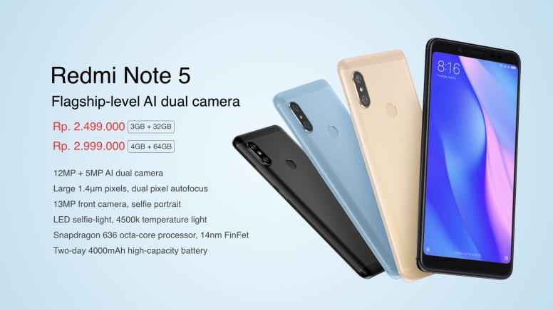 Redmi Note 5 Indonesia