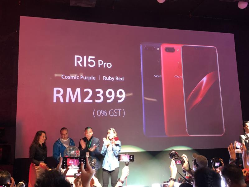 OPPO R15 Pro launch