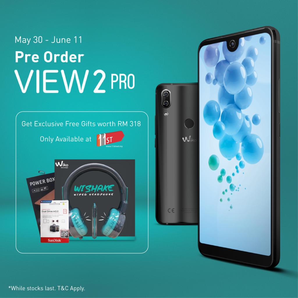 Wiko View2 Pro pre-order bundle