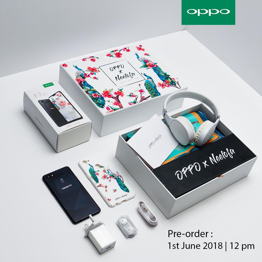 OPPO F7 x Neelofa Edition