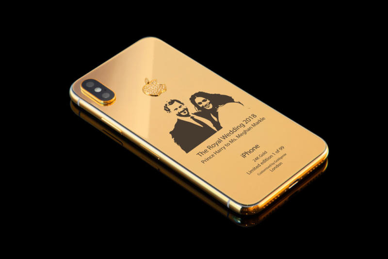 iPhone X Royal Wedding Gold Edition