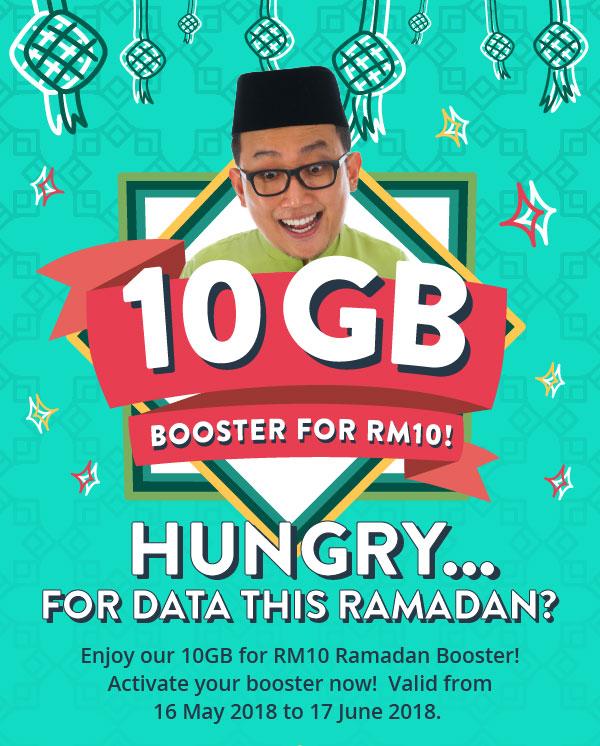 Yoodo Ramadan Booster