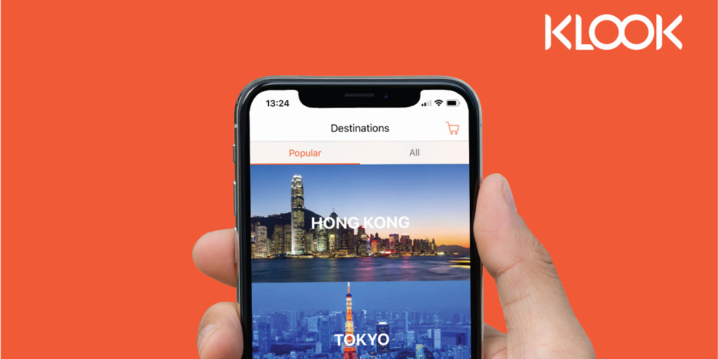 Book travel and adventures with Klook