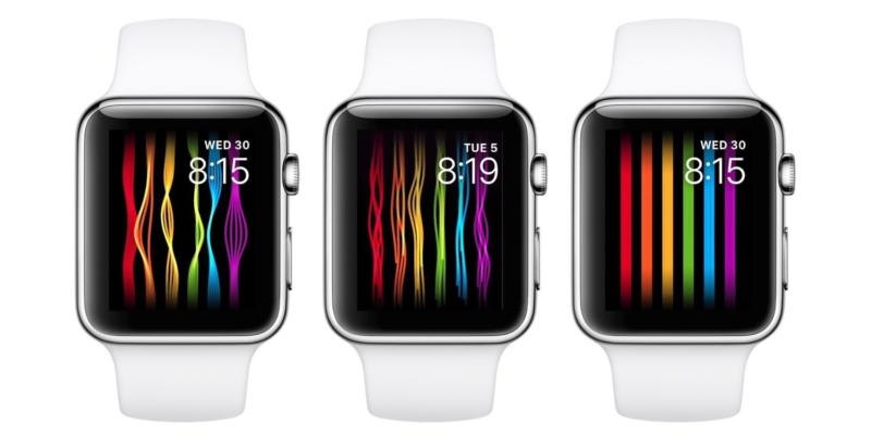 Apple Pride Watch Face