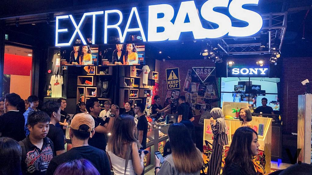 Sony EXTRA BASS store