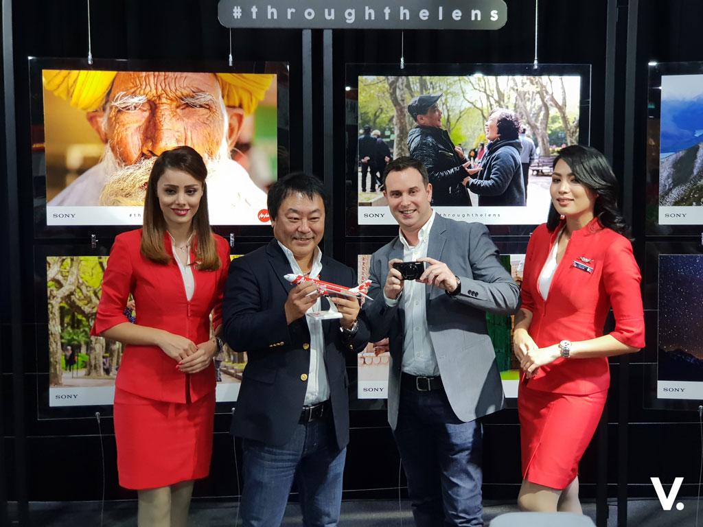AirAsia X Sony Malaysia