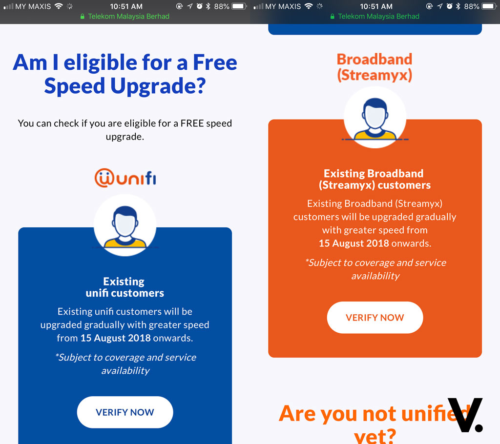 unifi Turbo free speed upgrade: Forget about checking if you qualify