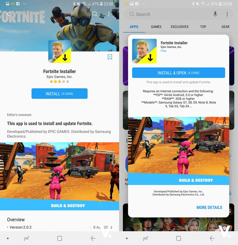 Fortnite for Android: Now available for other Android devices