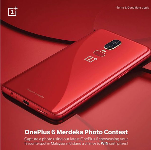 OnePlus 6 merdeka photo contest