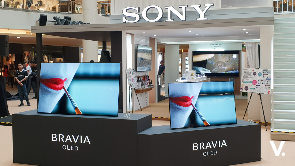 Sony debuts MASTER Series A9F OLED and Z9F LCD 4K HDR TVs