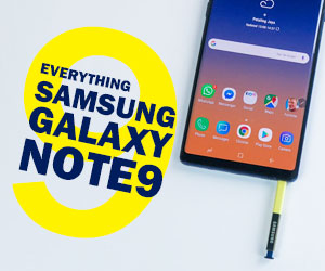 Everything Samsung Galaxy Note9