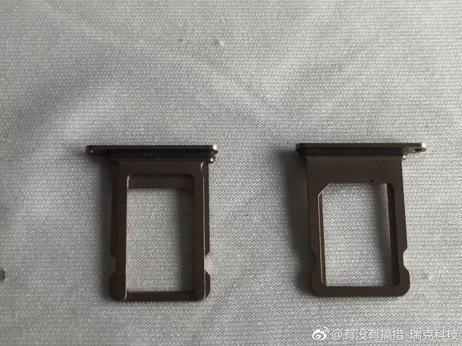 2018 iPhone Dual-SIM tray