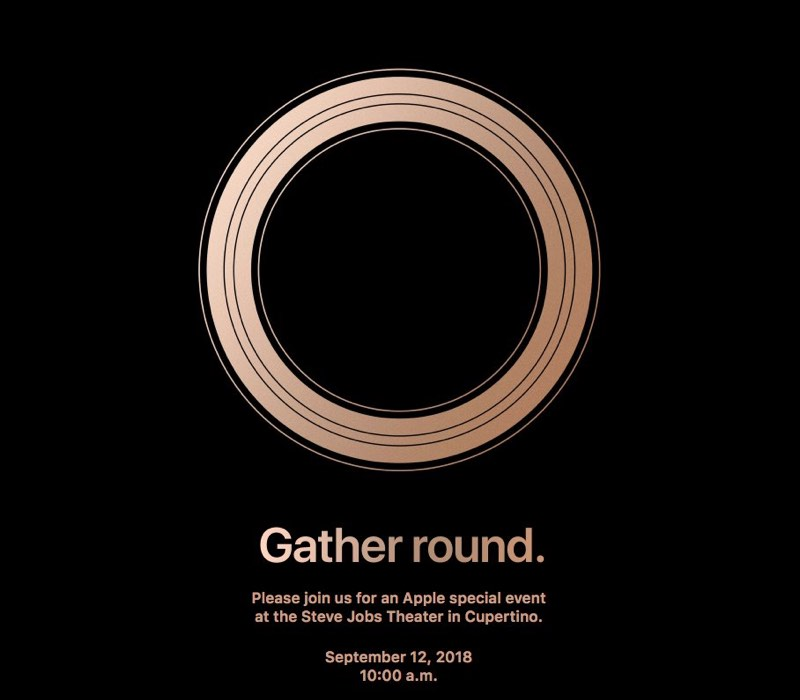 Apple Event 2018 iPhone launch