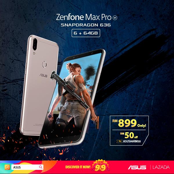 Lazada 9.9 ZenFone Max Pro