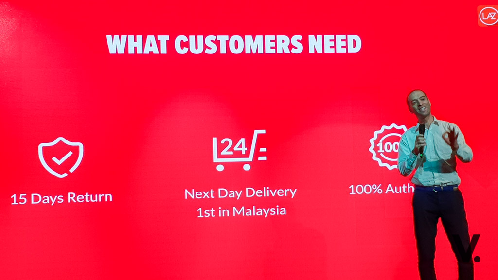 ddf05fa36d7 Lazada's LazMall offers next day delivery, 15-day easy returns