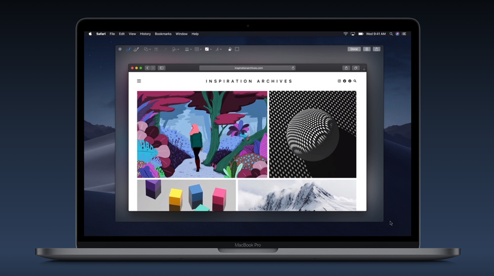 macOS Mojave Screenshots