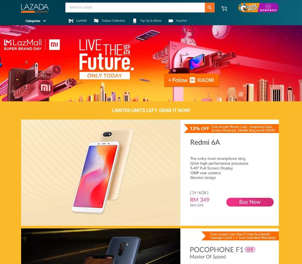 Xiaomi x Lazada Super Brand Day
