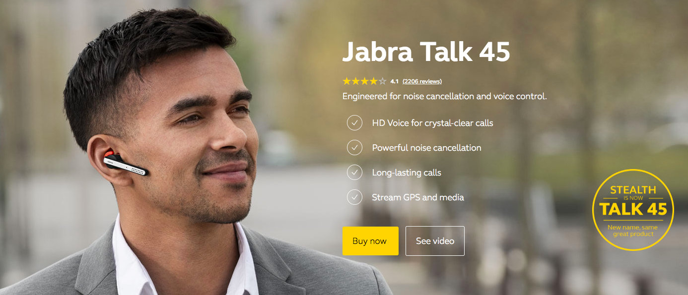 75493de5dbf Celebrating 20 great years of Bluetooth, Jabra is paying tribute to the  technology by introducing a new range of Bluetooth mono headsets under a  sub-brand ...