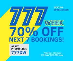 SOCAR 777 Promo