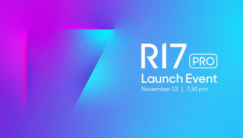 OPPO R17 Pro launch