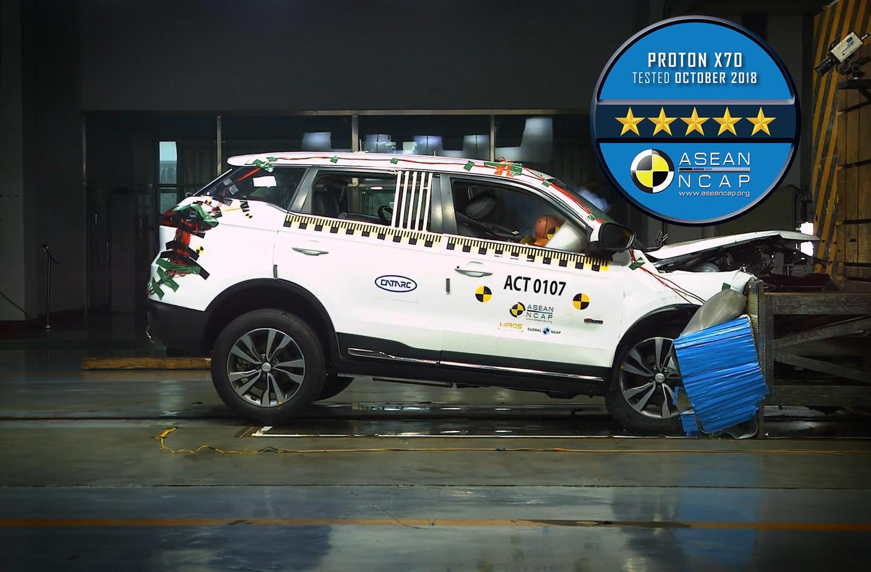 Proton X70 ASEAN NCAP