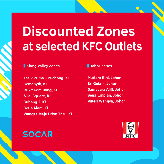 SOCAR Zone KFC Outlet