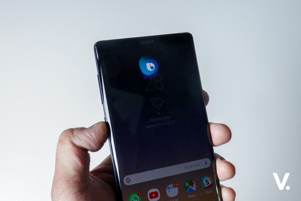 Samsung Galaxy Note9 Bixby