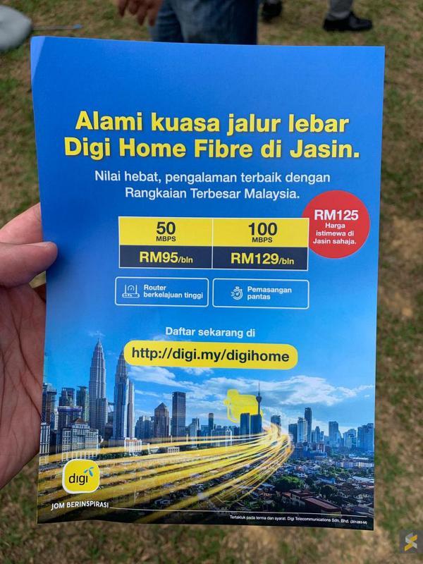 Digi fibre packages
